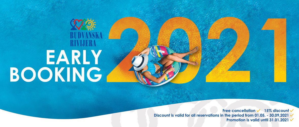 Take advantage of our # EarlyBooking2021 offer! image
